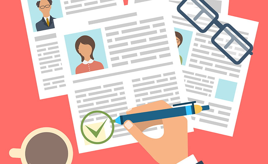 How is technology improving data processing in recruitment