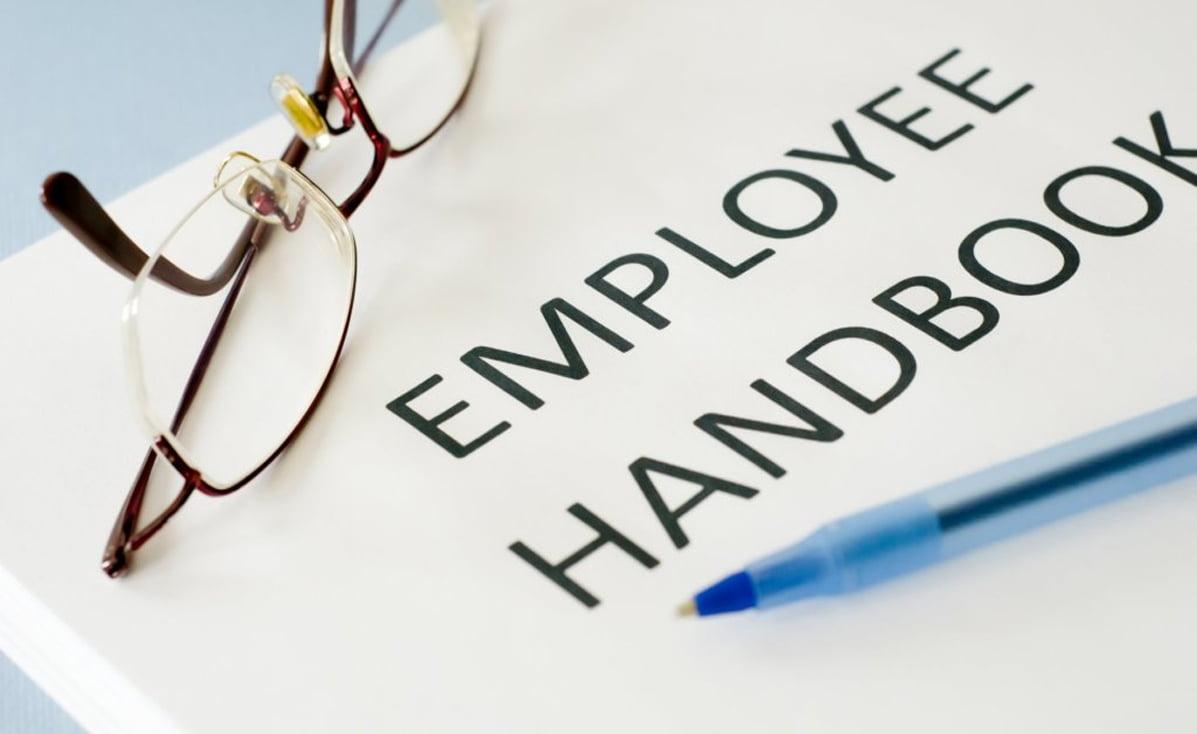 maintain an employee handbook