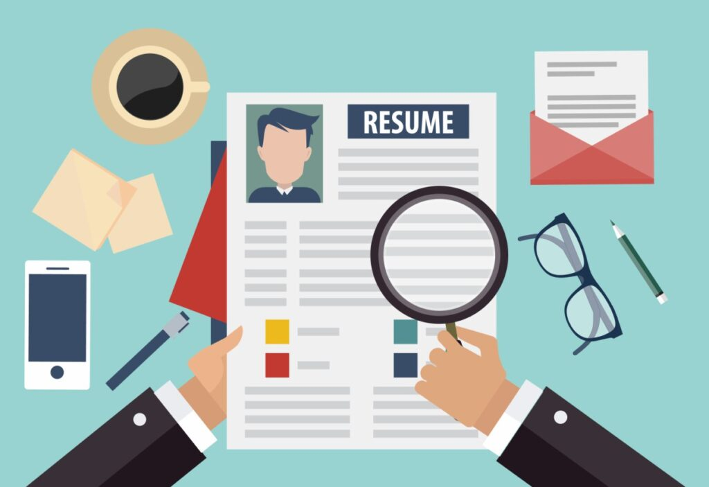 What steps should be followed in order to recruit and select the right candidates for the job